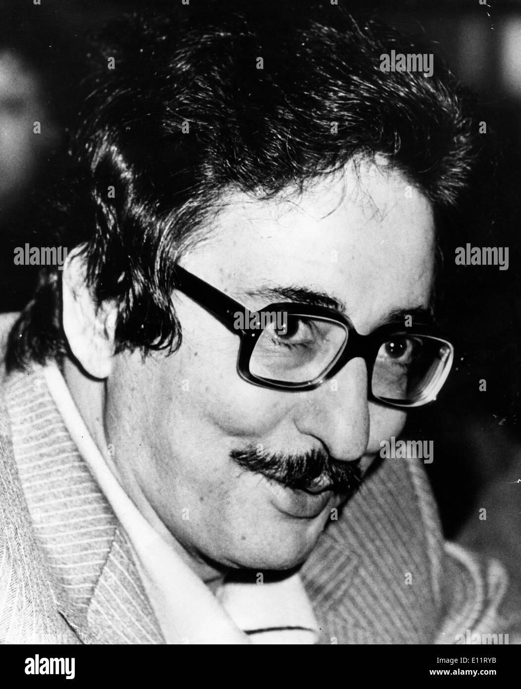Nov 08, 1979 - Tehran, Iran - ABOL-HASSAN BANISADR was the first President of Iran, following the 1979 Iranian Revolution - Stock Image