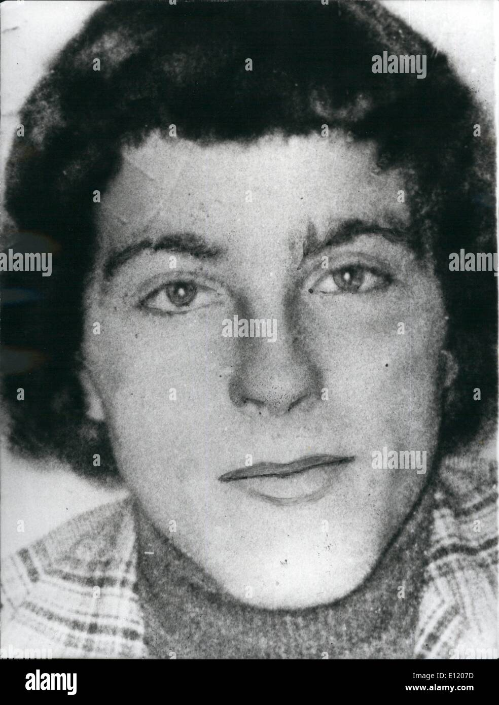 May 05, 1981 - Hunger striker No.2 Francis Hughes Dies : Francis Hughes, 25, became the second hunger sterile in a week to die in the Maze Prison in Belfast. The first being Bobby Sands. Hughes was on his 59 day of his fast at the time of his death, He was one of the Ira's top killers, through men remain on hunger strike. Two of 26 deaths. Three other men remain on hunger strike. Two of them Patsy O'Hara and Ray, and McCreesh are deteriorating rapidly after 53 days, and are expected to died any time. Photo shows Francis Hughes who died yesterday in the Maze prison, Belfast after 59-day fast. - Stock Image