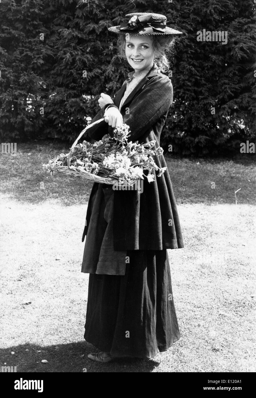 Model Twiggy in the television version of 'Pygmalion' - Stock Image