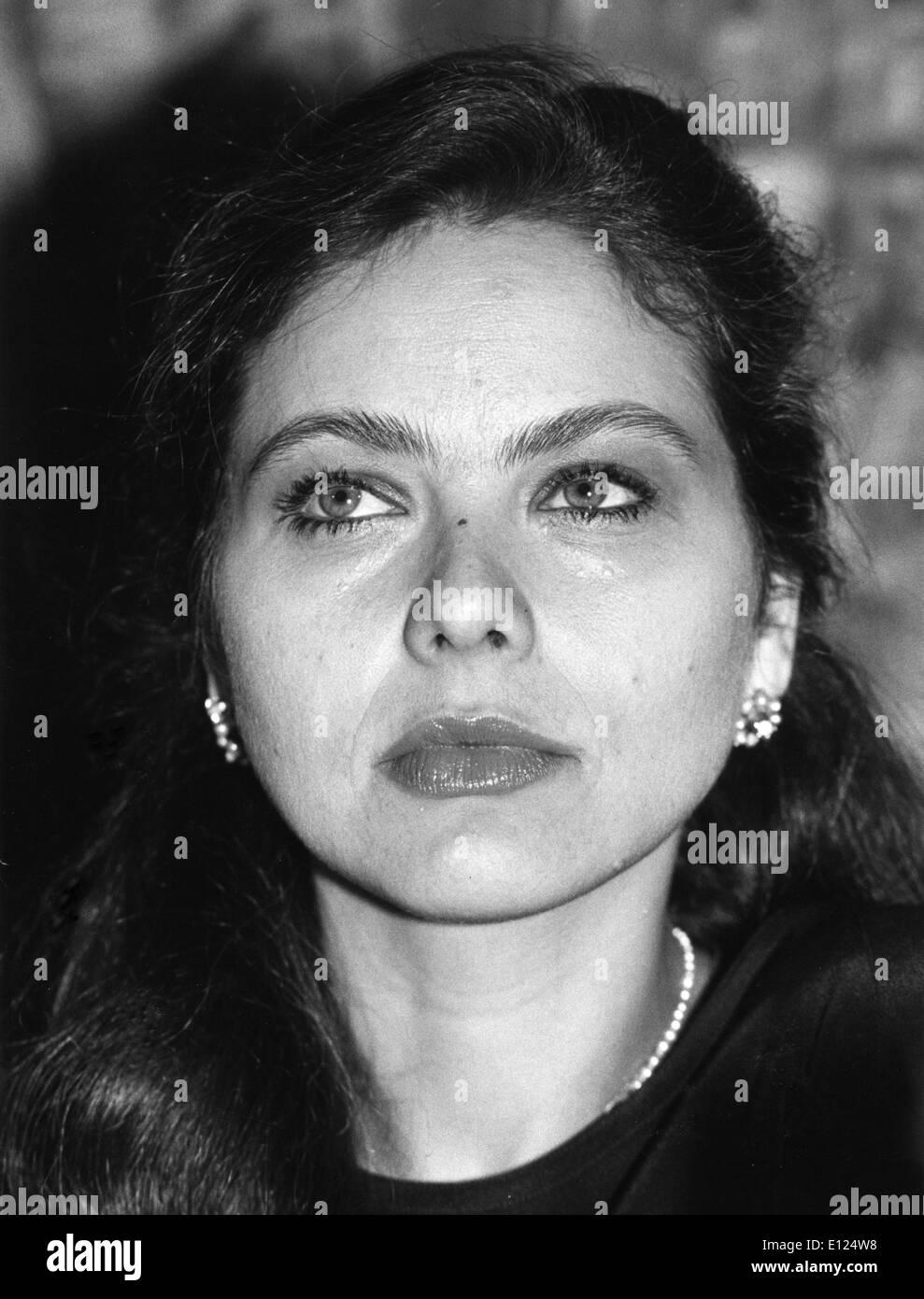 Mar. 3, 1991 - ORNELLA MUTI Stock Photo