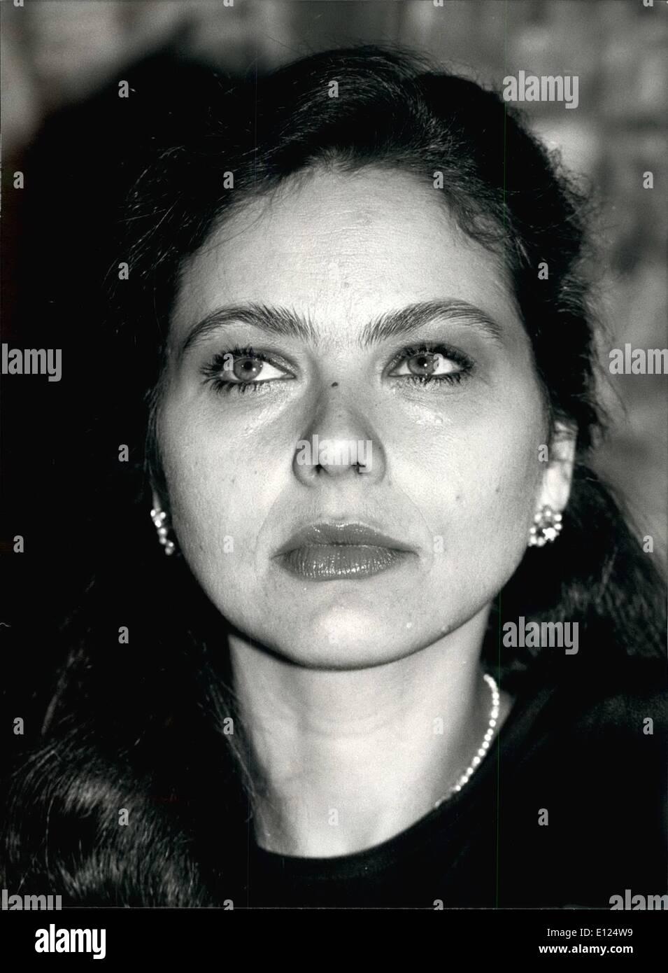 Mar. 03, 1991 - Ornella Muti : For your filers: Italian actress Ornella Muti. .c Stock Photo