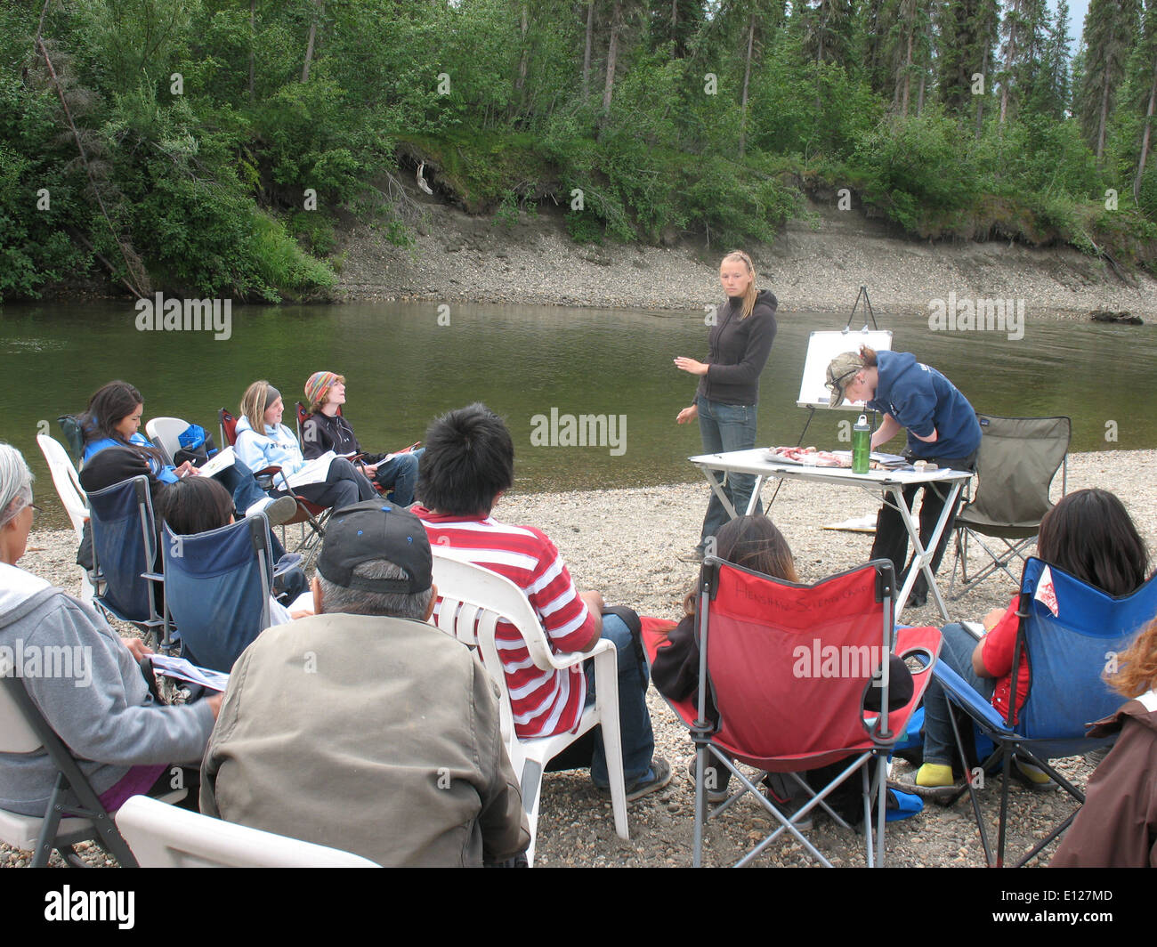 Tcc stock photos tcc stock images alamy for Kates fish camp
