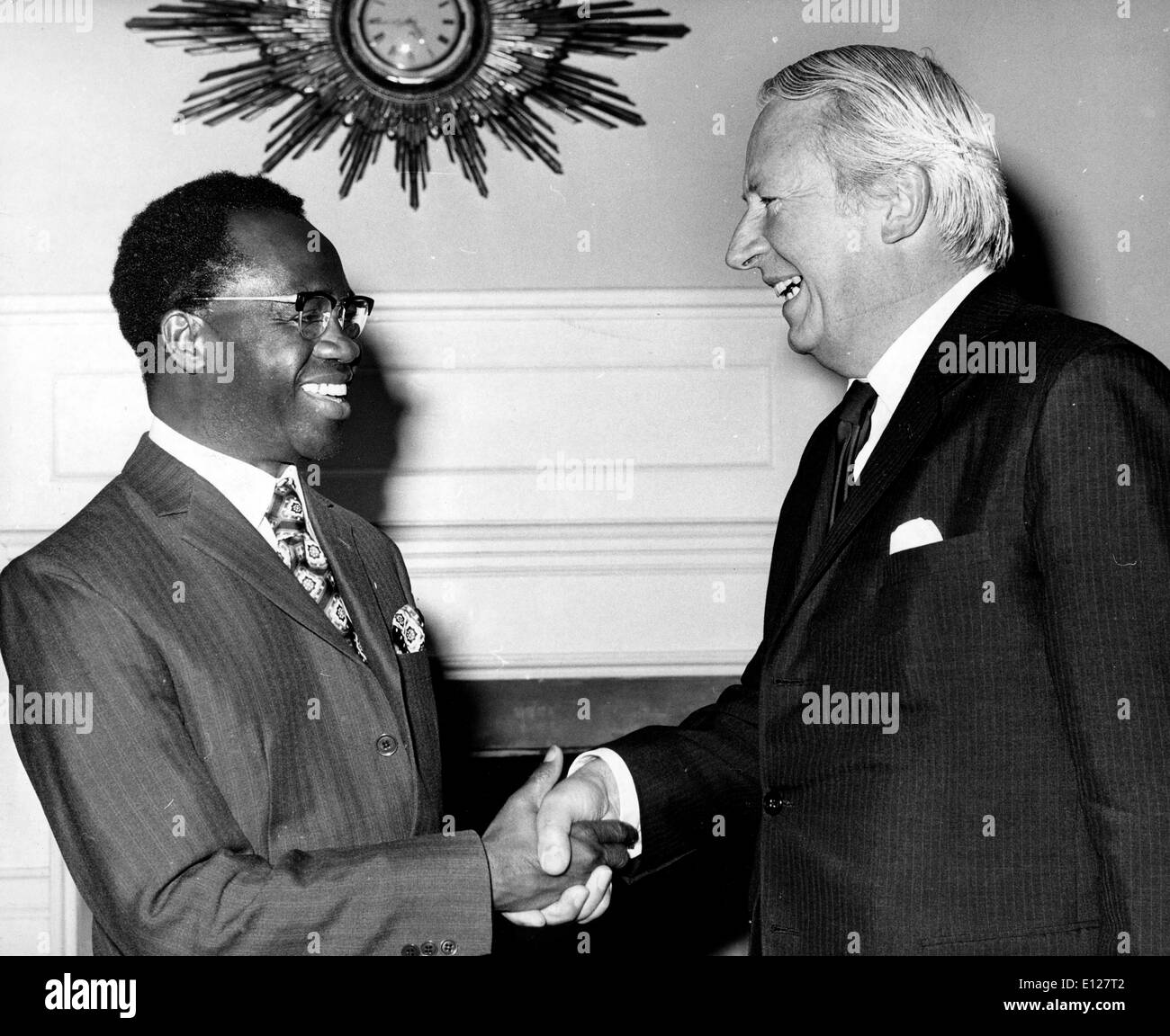 Apr 01, 2009 - London, England, United Kingdom - KOFI ABREFA BUSIA 11 July 1913 Ð 28 August 1978 was Prime Minister of Ghana f - Stock Image
