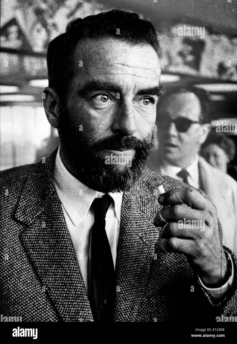 Apr 01, 2009 - London, England, United Kingdom - EDWARD MONTGOMERY CLIFT with beard (October 17, 1920ÐJuly 23, 1966) was an American film actor. He was known for his brooding, sensitive and working-class character roles. He received one Academy Award for best supporting actor and four Academy Award nominations during his career. (Credit Image: KEYSTONE Pictures USA/ZUMAPRESS.com) - Stock Image