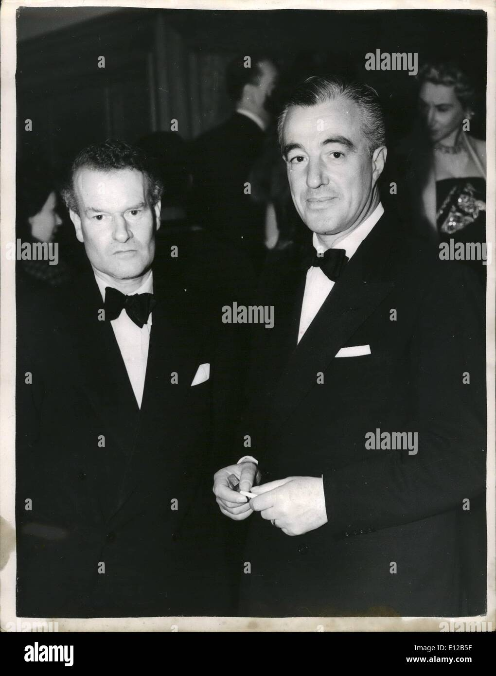 Dec. 09, 2011 - Italian Producer Attends Premiere Of 'The Net'' Vittoria de Sica; Photo Shows Vittorio de Sica the award winning Italian film producer - seen when he arrived at the Odeon, Leicester Square, last evening for the premiere of the film ''The Net' - Stock Image