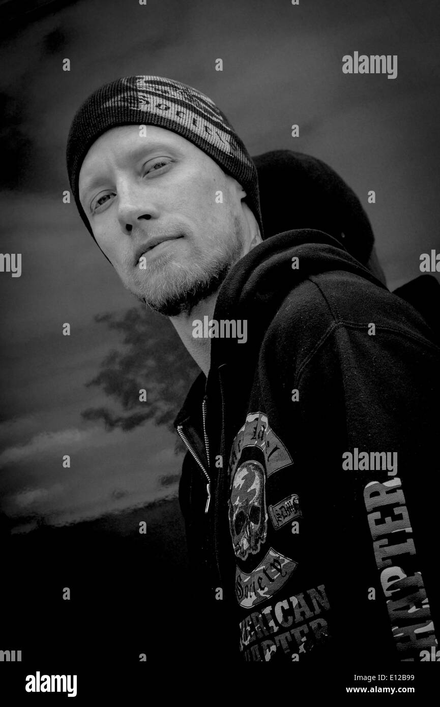 columbus ohio usa 16th may 2014 members of american metal band