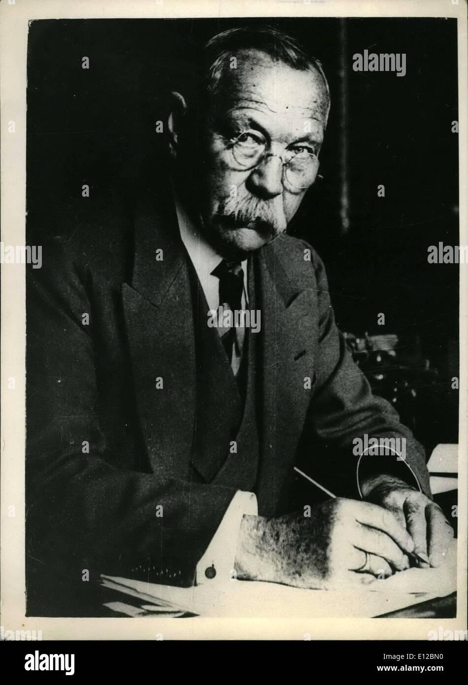 Dec. 09, 2011 - Sir Arthur Conan Doyle - Stock Image