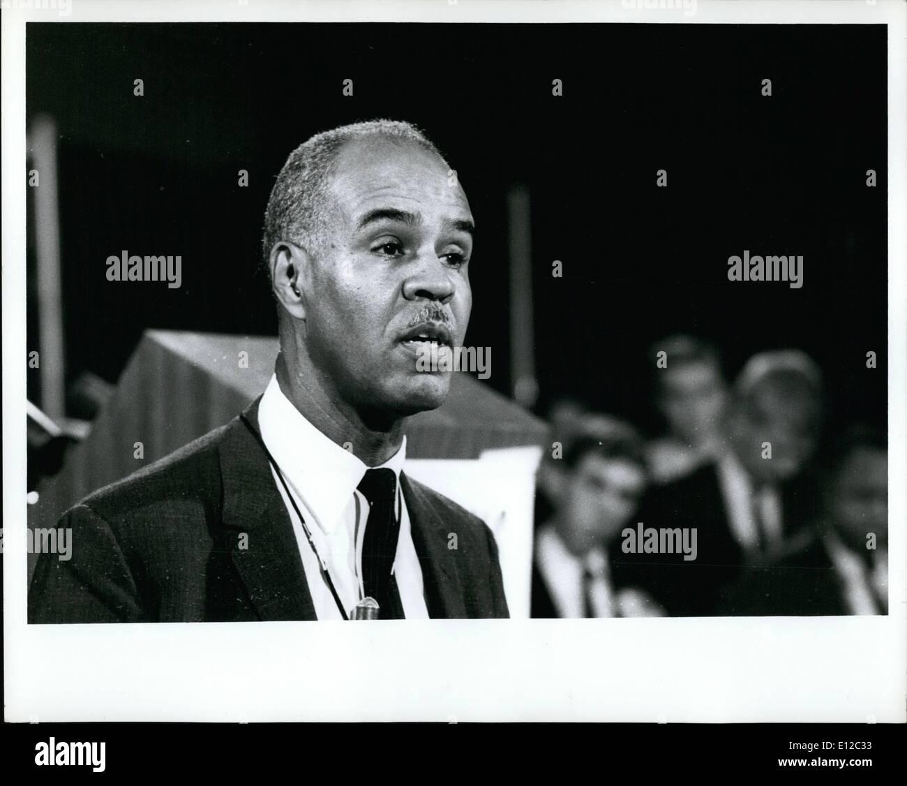 Dec. 16, 2011 - ROY WILKINS HEAD OF NAACP - Stock Image
