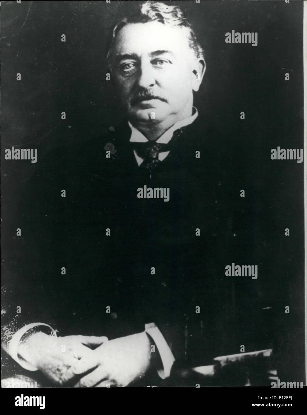 Dec. 20, 2011 - Cecil John Rhodes founder of the diamond company De Beers - Stock Image