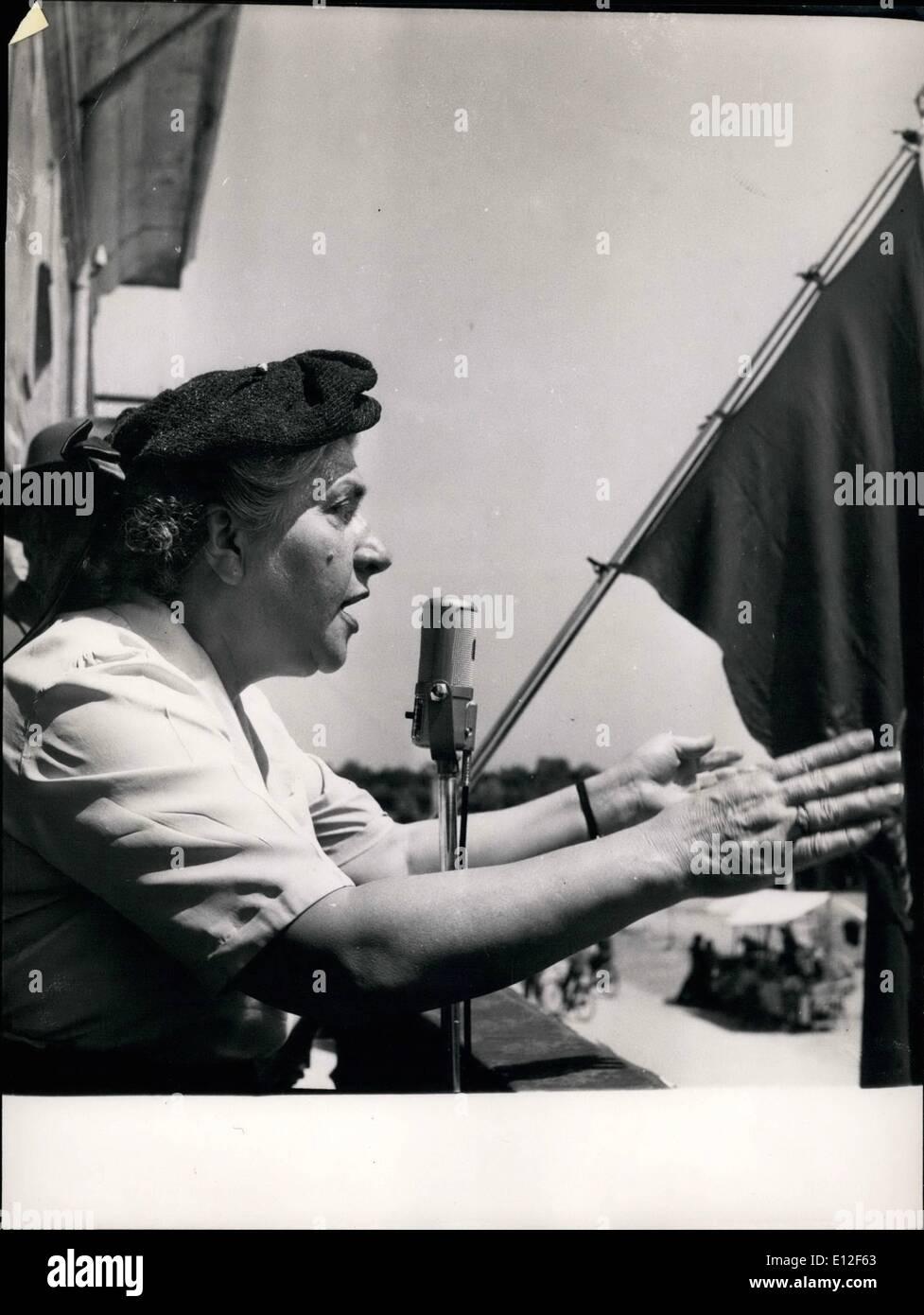Dec. 21, 2011 - Senatuci Elsa Merlin PSI- Nuim Socialist in Caruaru. Stock Photo