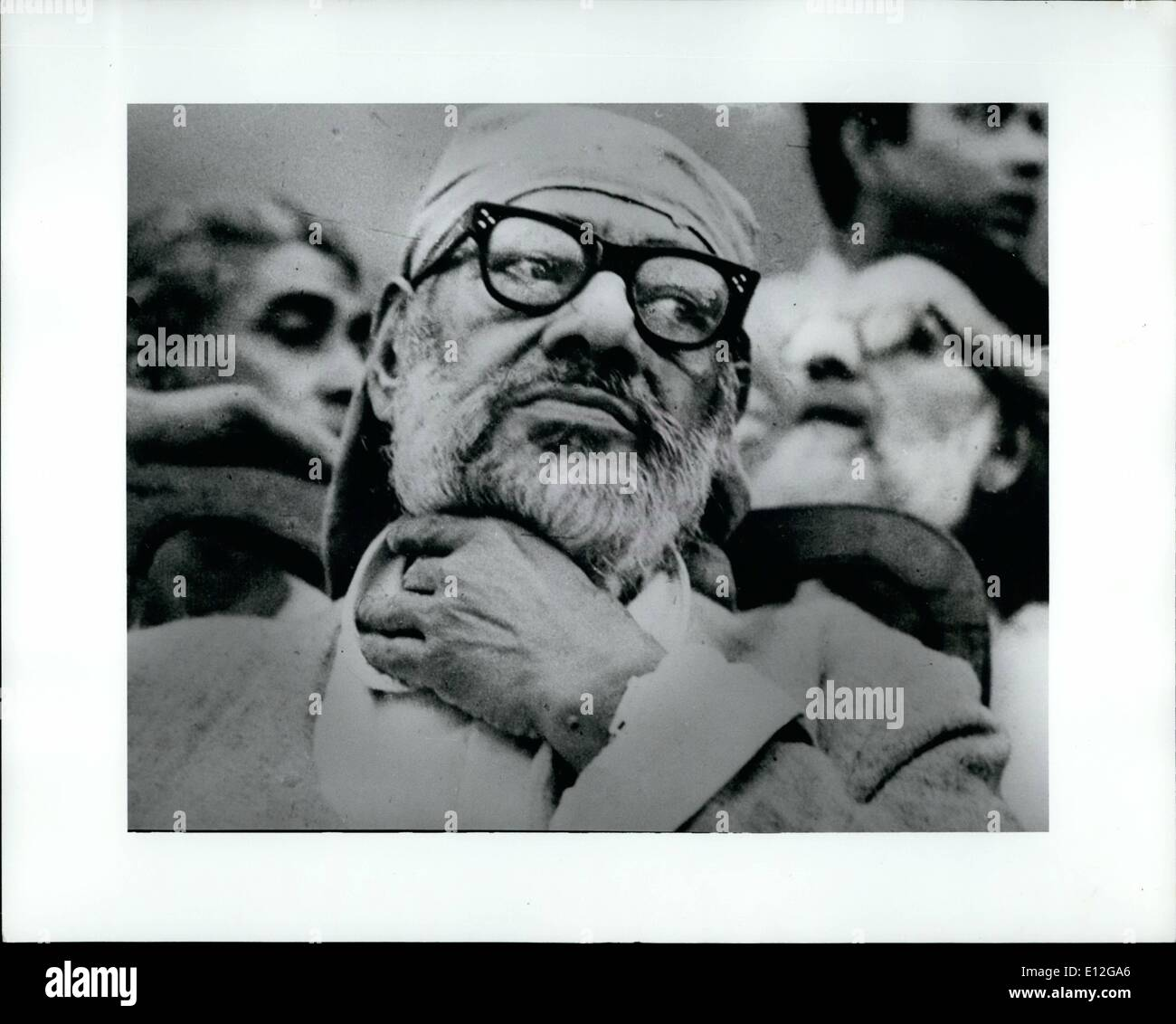 Dec. 26, 2011 - Mr Raj Narain - Stock Image