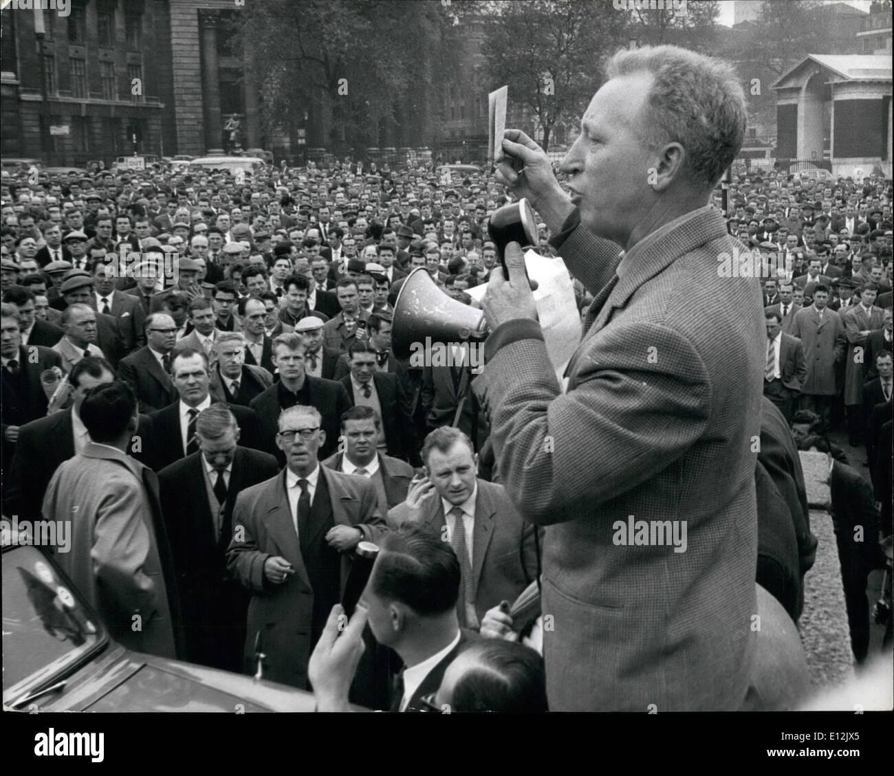 Feb. 24, 2012 - Jack Dash Communist Dock leader. - Stock Image