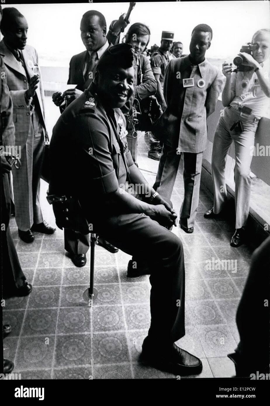 Uganda President Idi Amin Dada Stock Photos & Uganda President Idi