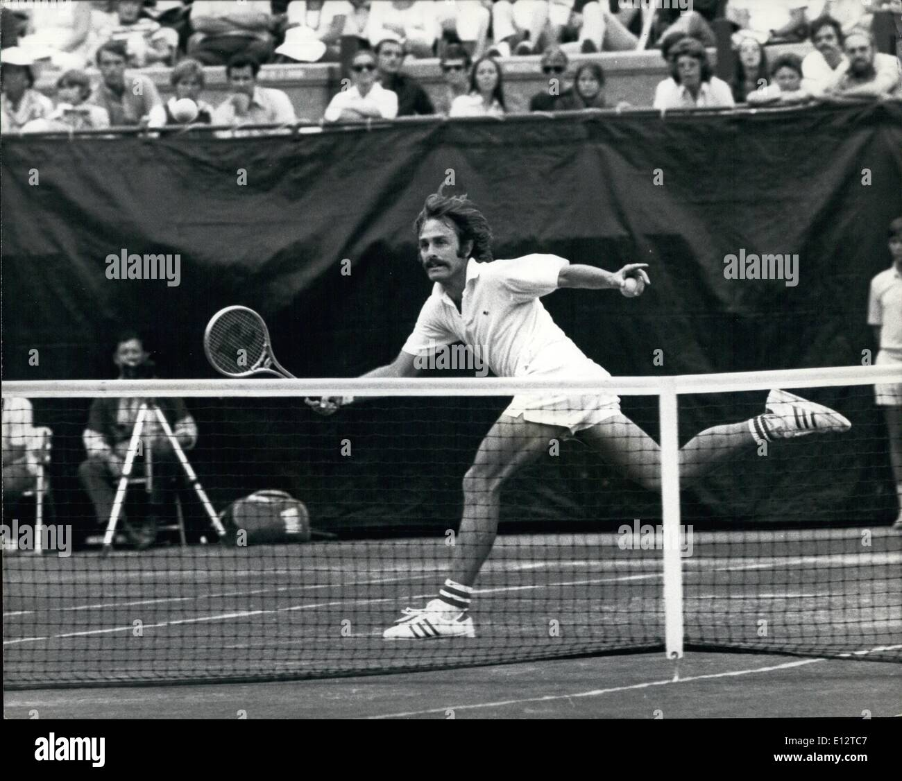 Feb. 24, 2012 - John Newcombe, US Open Men's SIngles Champion - Stock Image