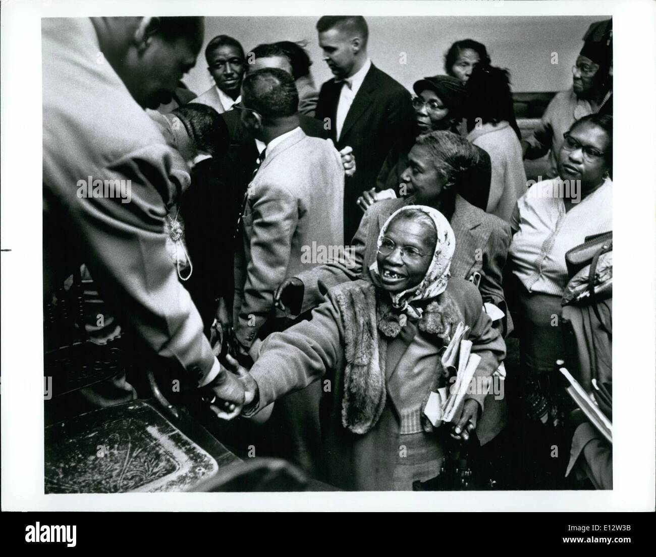Feb. 25, 2012 - Reverend Martin Luther King Jr. March to Vision's End Stock Photo
