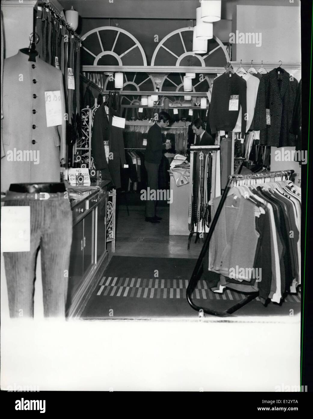 Feb. 26, 2012 - Carnaby St. - Stock Image