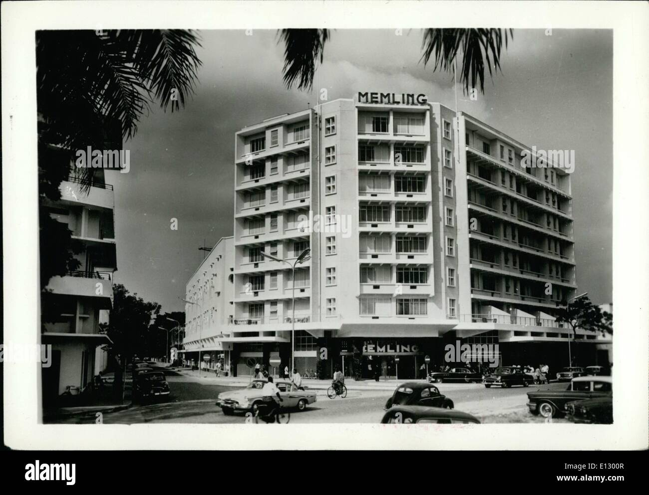Feb. 25, 2012 - Zaire - Kinshasa: A hotel in the commercial center. - Stock Image
