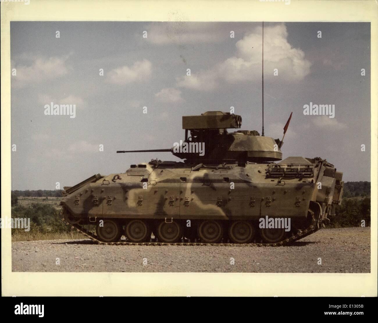 Feb. 26, 2012 - XM -2 Tank - Stock Image