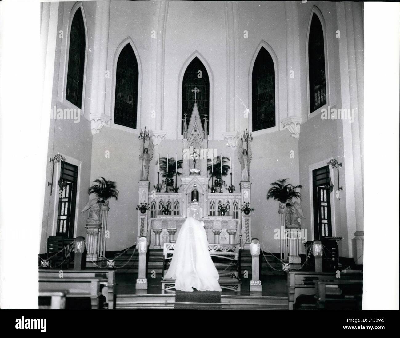 Feb. 26, 2012 - The School Chapel attached to the Girls' Convent School in Macao. APRE - Stock Image