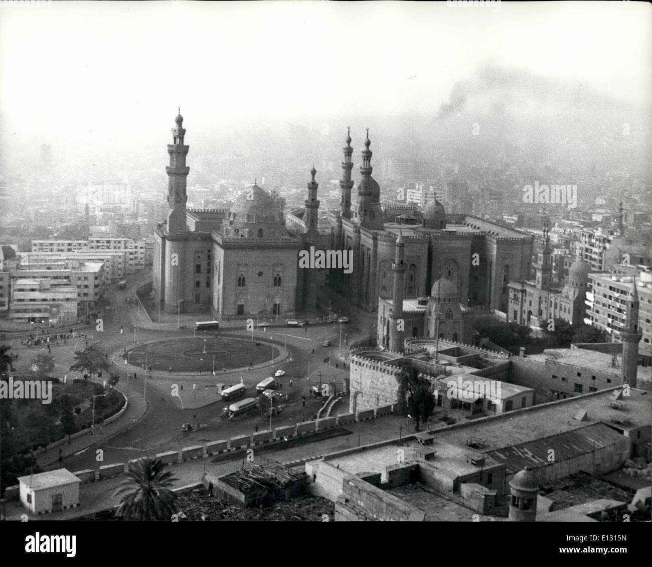 Feb. 26, 2012 - Al Azhar University, Coiro; The Resplendent stronghold of Islam - lies in the heart of Cairo. It is surrounded by the old popular quarters of the city. - Stock Image
