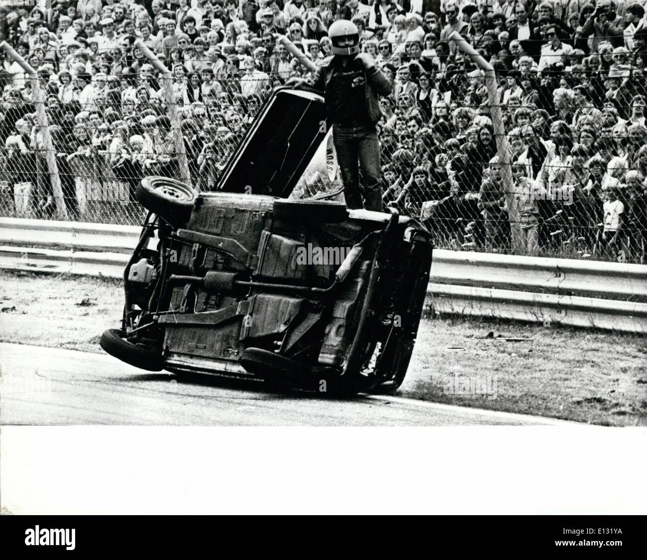 Feb. 26, 2012 - A Draft Sort Of Race: To go backwards, usually doesn't get you very far, but drivers of these - Stock Image