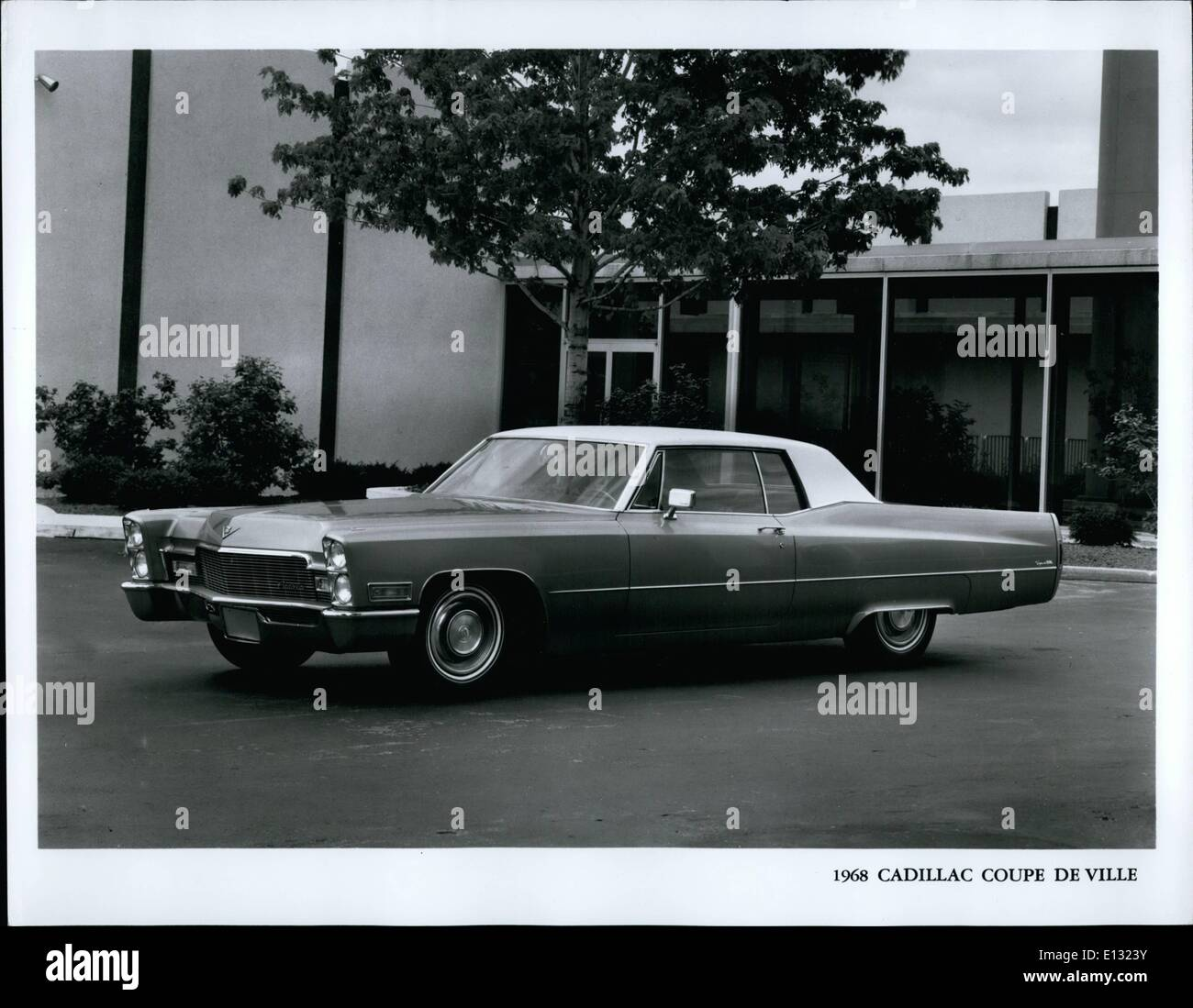 Feb. 26, 2012 - 1968 Cadillac Coupe De Ville - Stock Image