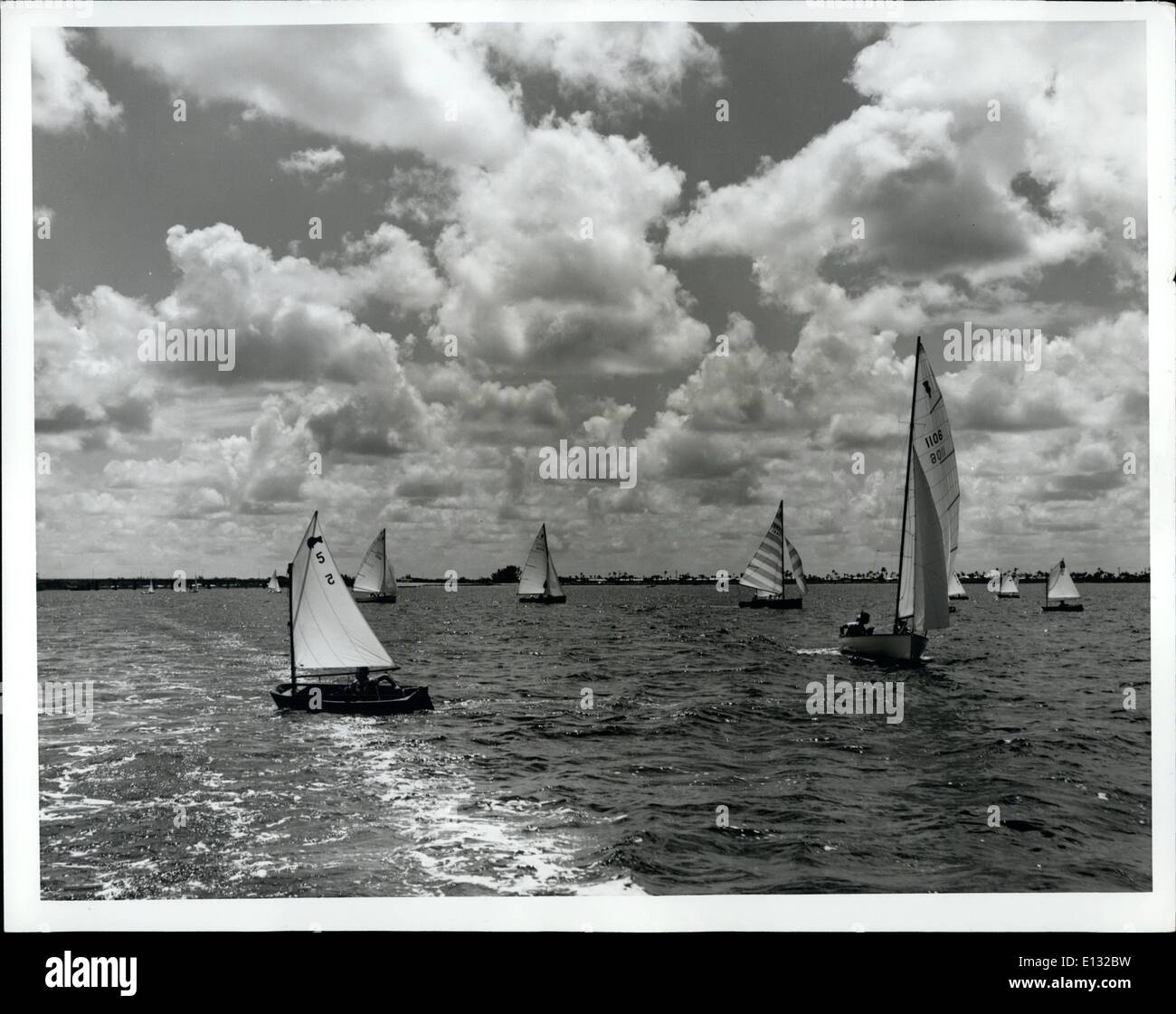 Feb. 26, 2012 - Labor Day festivities highlight Florida's calendar of events for September, and the sailing Regatta in Sarasota - Stock Image