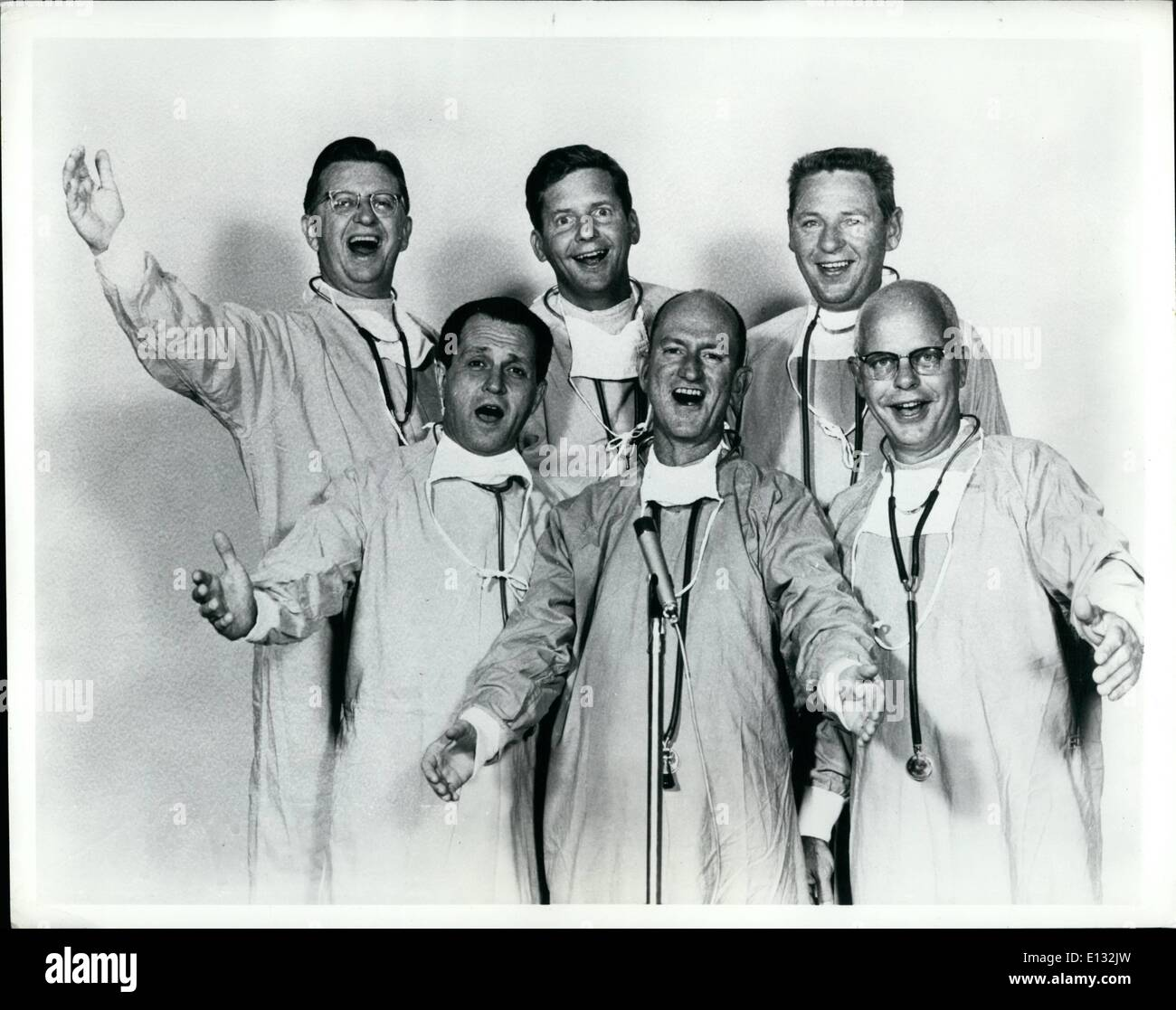 Feb. 26, 2012 - Six Springfield, Mo., physicians have made medical history - for better or for worse - in becoming Stock Photo