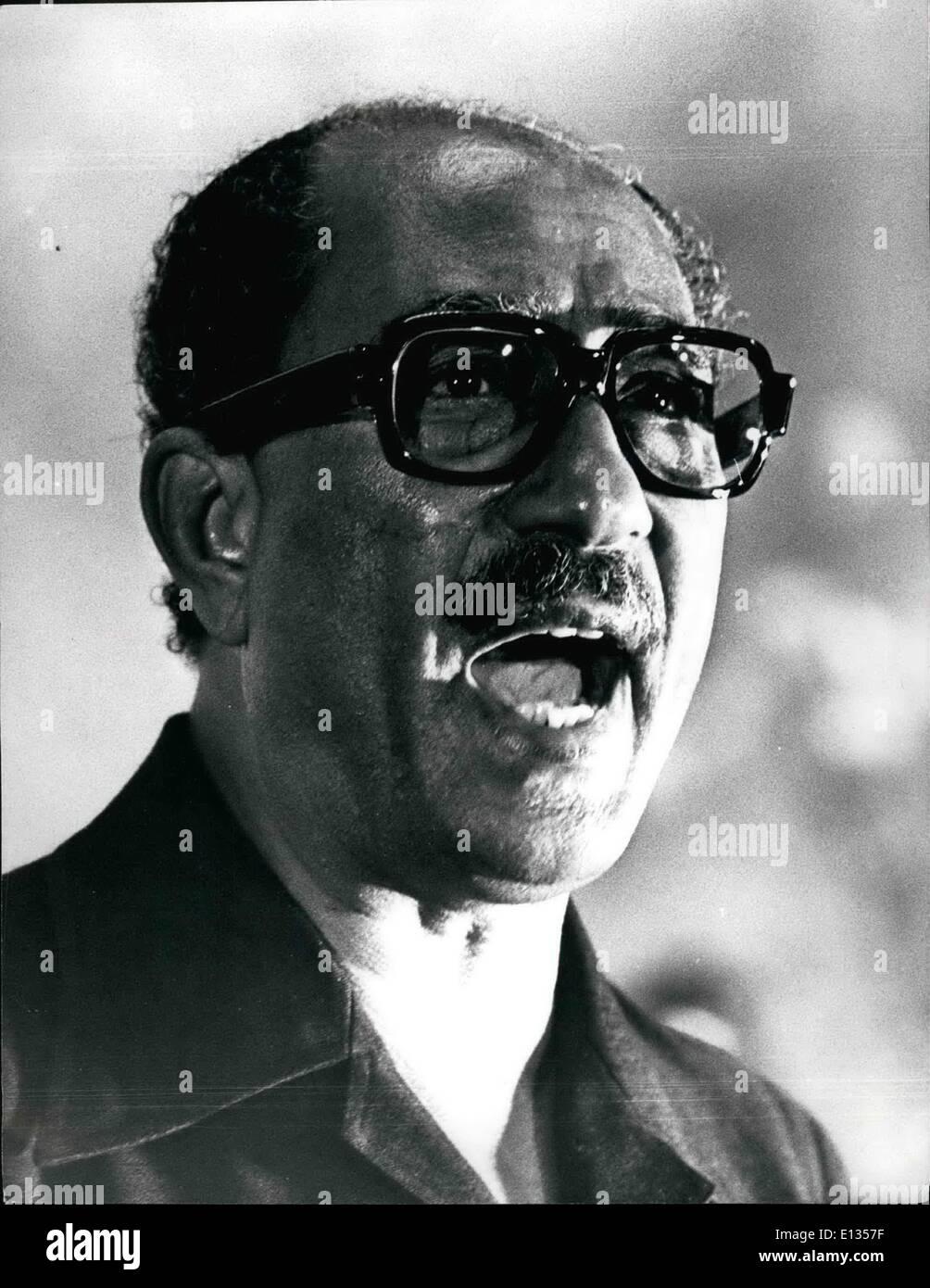 President Egypt Anwar El Sadat Stock Photos Amp President