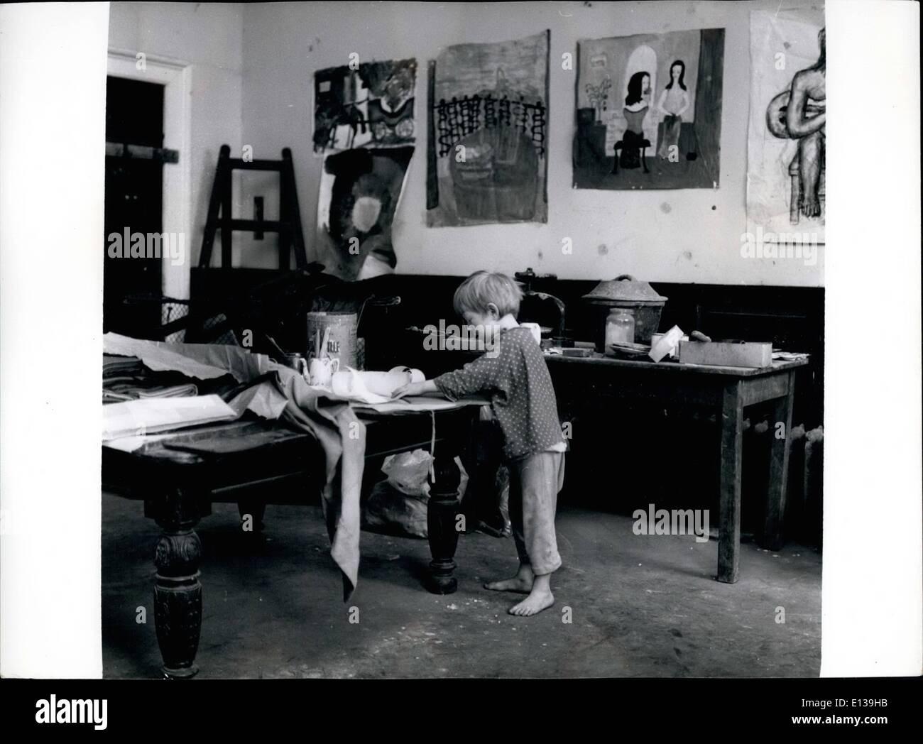 Feb. 29, 2012 - No Oliver Twist - 6-year-old pupil Vaughan Leslie. - Stock Image
