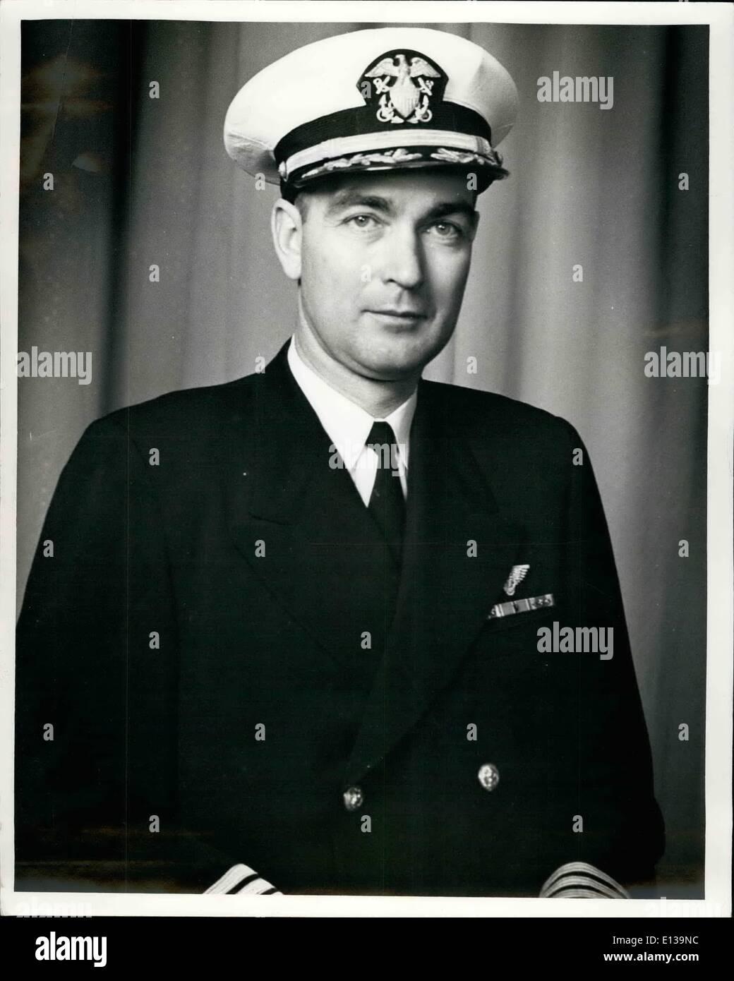 Feb. 29, 2012 - CDR. Damon W. Colper, USN. - Stock Image