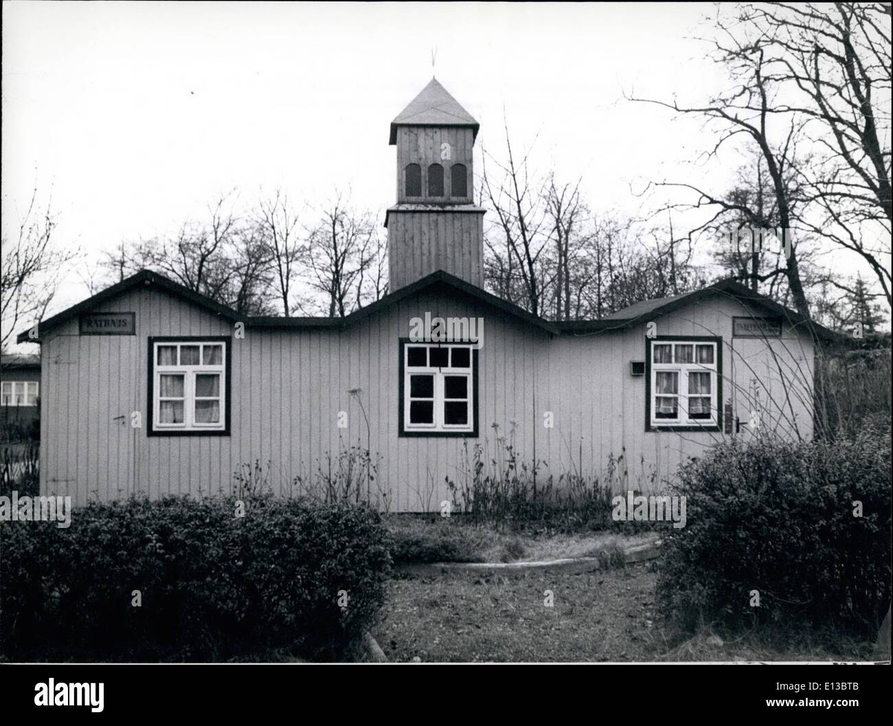 Feb. 29, 2012 - SMALLEST TOWN HALL OF THE WORLD IS IN BERLIN It is probably the smallest town hall of the world, Stock Photo