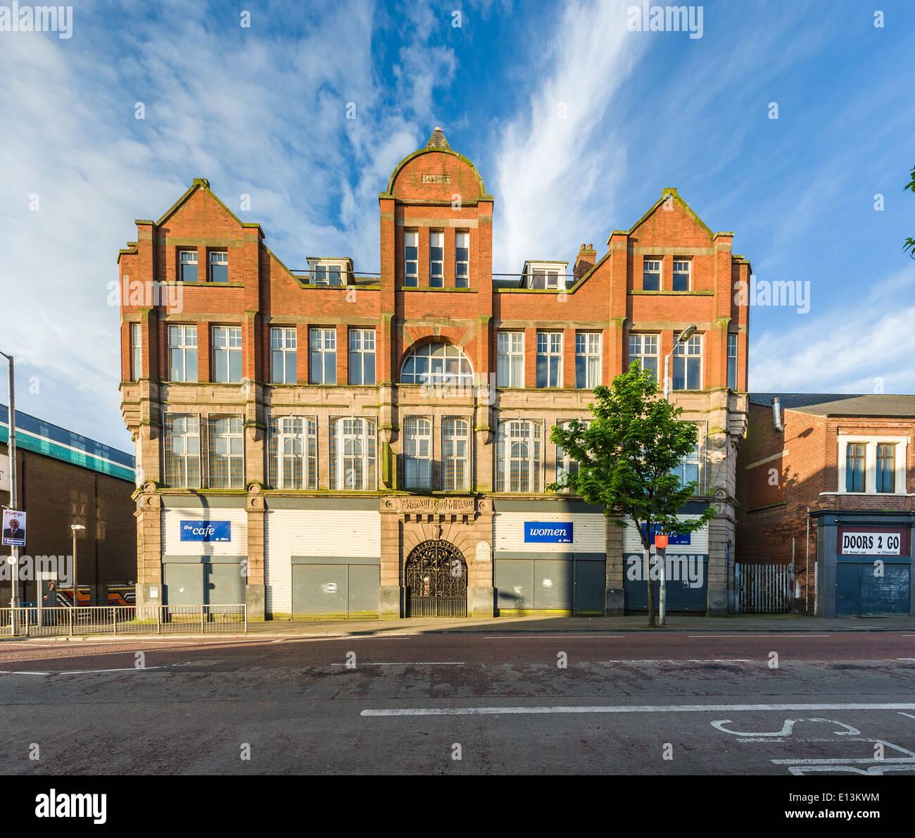 Shankill Road Mission, Shankill Road, Belfast, Northern Ireland - Stock Image
