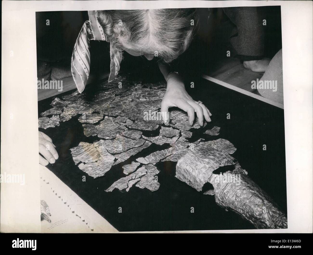 Mar. 22, 2012 - According to the opinion of experts - of the German National Museum in Nuremberg the so-called ''Nuremberg Stock Photo