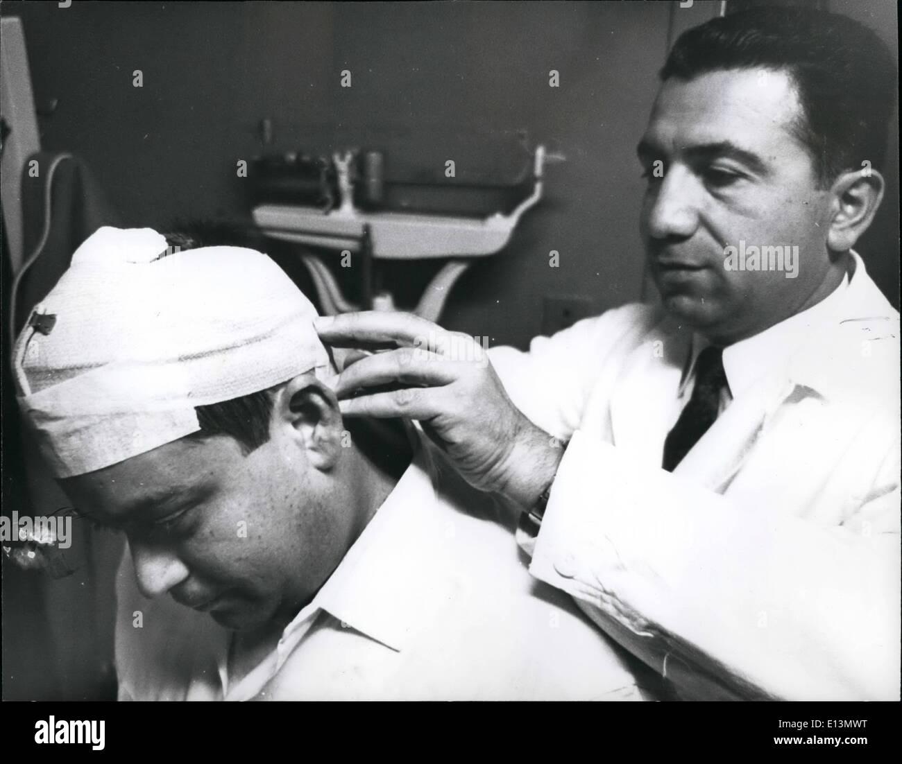 Mar. 22, 2012 - Hair Transplant Procedure. - Stock Image