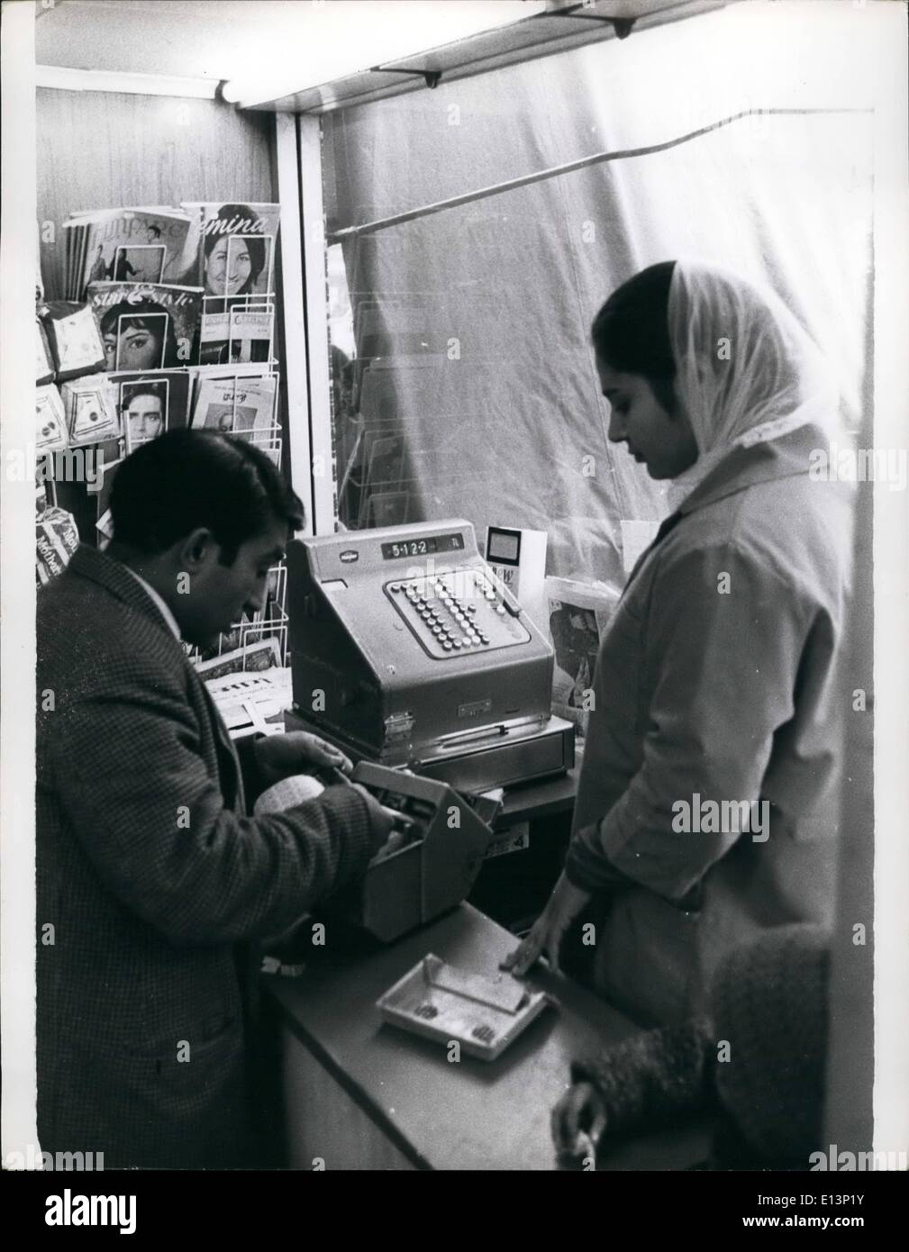 Mar. 22, 2012 - Immigrant in Southall both working & living - Stock Image