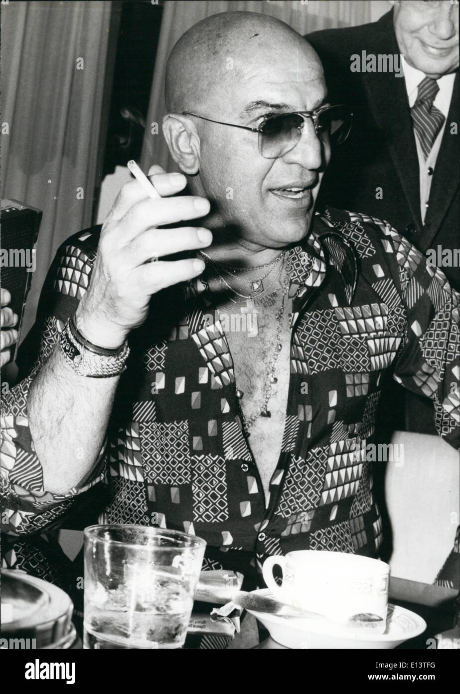 Mar. 27, 2012 - Telly Savalas - Stock Image