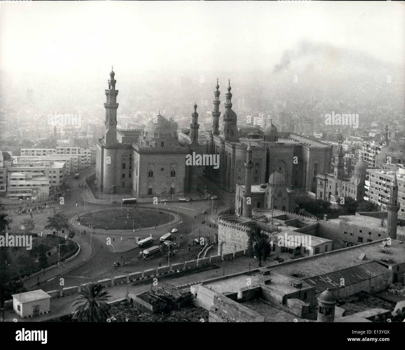 Mar. 27, 2012 - Al Azhar University, Cairo: The Respledent-stronghold of Islam - lies in the heart of Cairo. It is surrounded by the old popular quarters of the city. - Stock Image