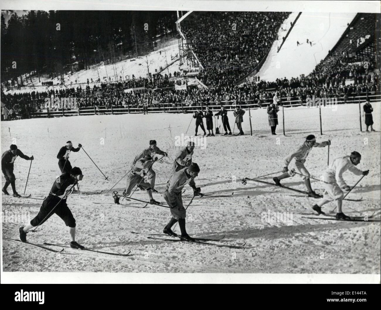 Apr. 04, 2012 - Jeux Olympiques 1952 - Stock Image