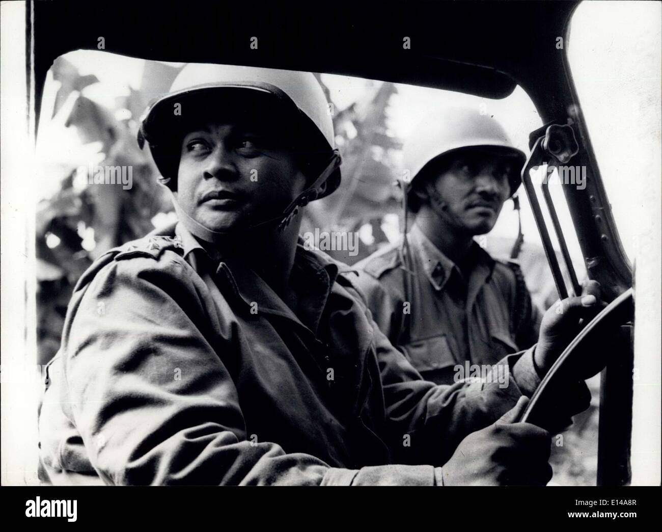 Apr. 17, 2012 - Typical members of Sukarno' s Army. - Stock Image