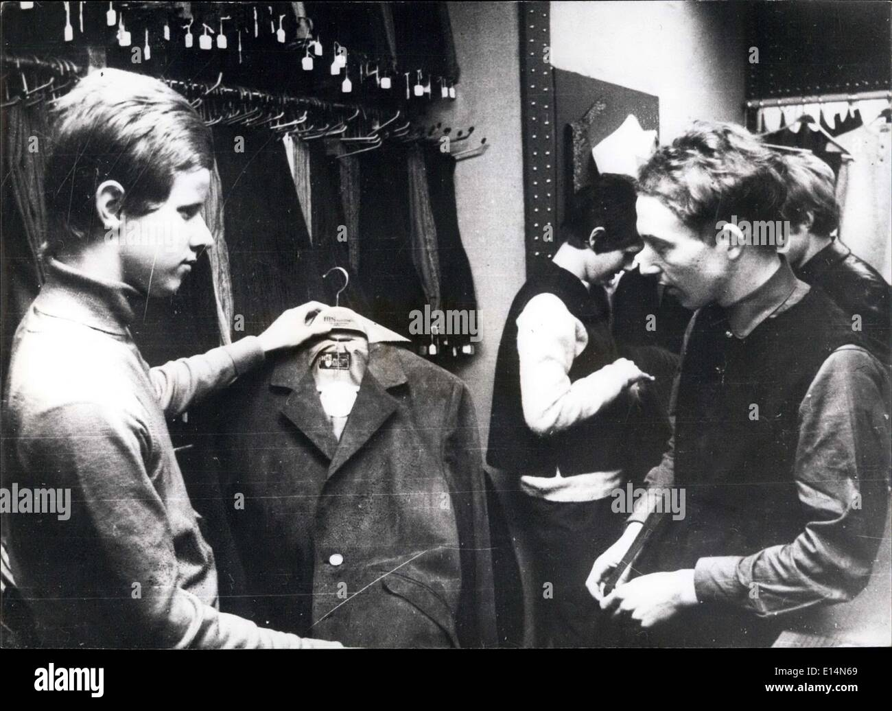 Apr. 05, 2012 - Carnaby Street, the Saville Row of the Mod Male, where individually is important and there is an everlasting race for the original. - Stock Image