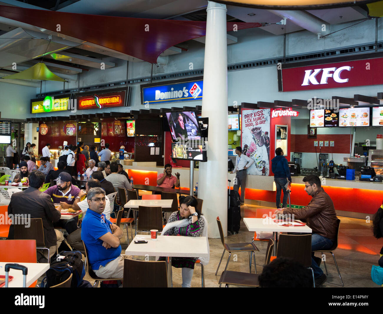 Food Court Santa Cruz