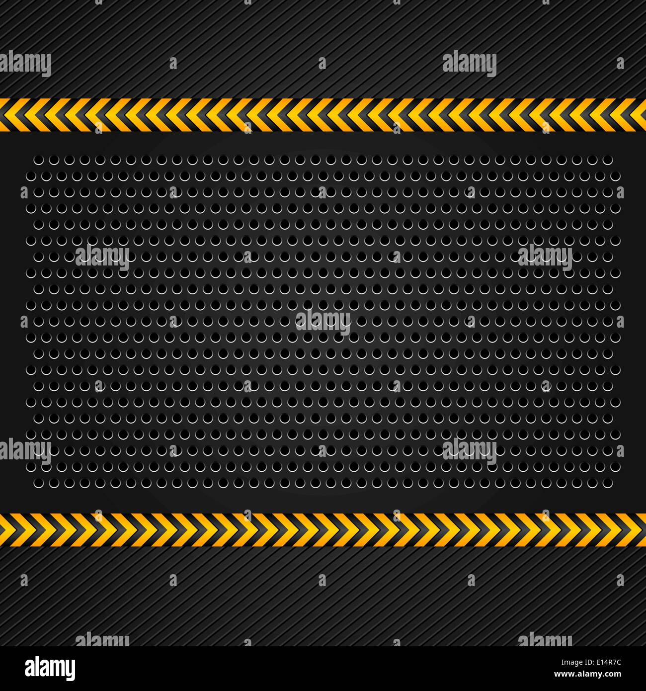 metallic background template perforated iron sheet vector stock