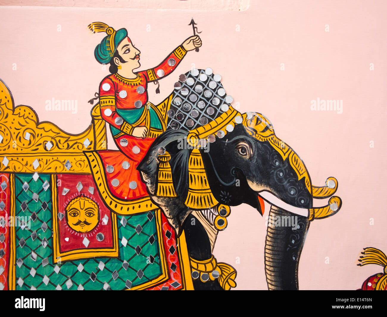 Rajasthani Folk Wall Paintings