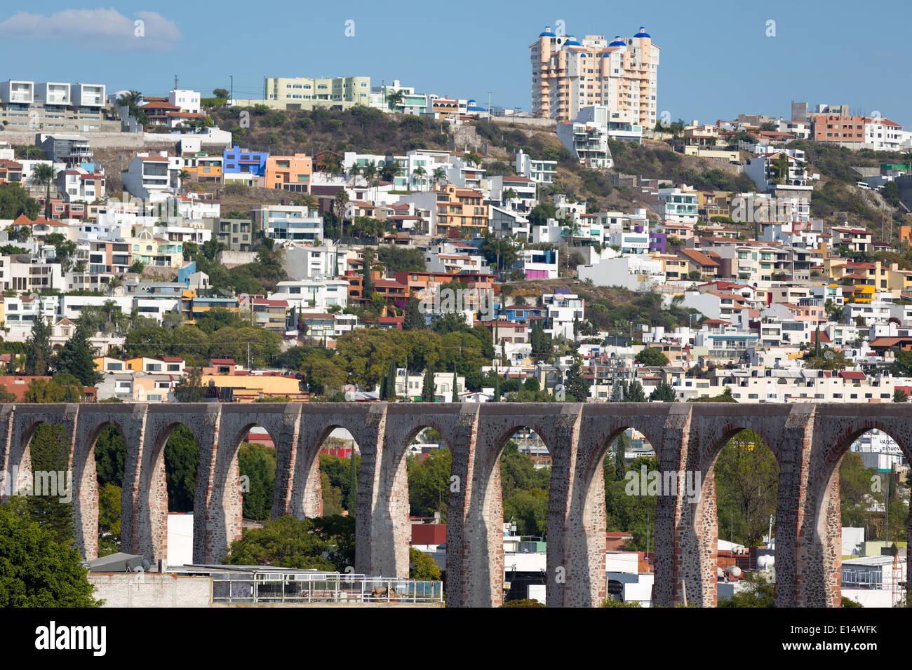 Queretaro Aqueduct Stock Photos Queretaro Aqueduct Stock Images