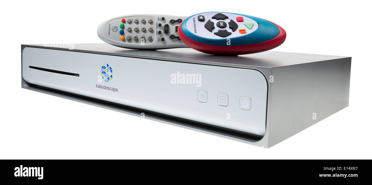 Kaleidescape movie server stores films for play without DVDs. - Stock Image