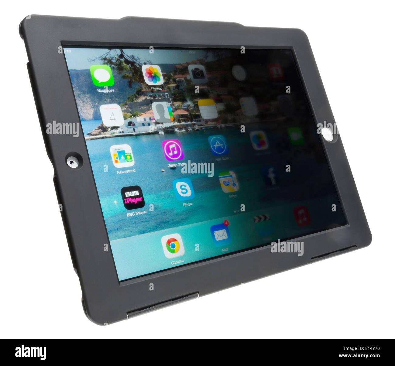 Leitz privacy iPad case - Stock Image