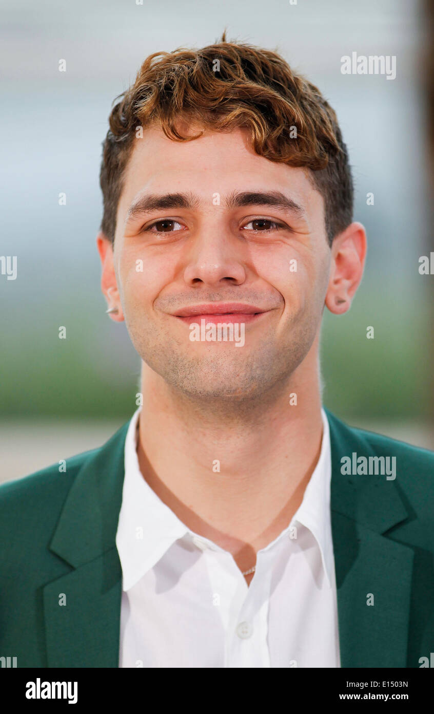 XAVIER DOLAN MOMMY. PHOTOCALL. 67TH CANNES FILM FESTIVAL CANNES  FRANCE 22 May 2014 - Stock Image