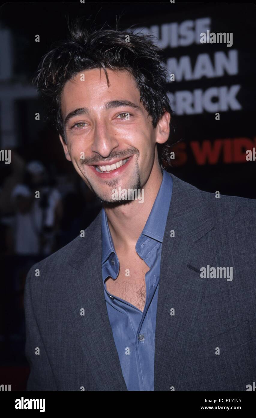 ADRIEN BRODY.Eyes Wide Shut premiere in Westwood, Ca. 1999.k16081fb.(Credit Image: © Fitzroy Barrett/Globe Photos/ZUMAPRESS.com) - Stock Image