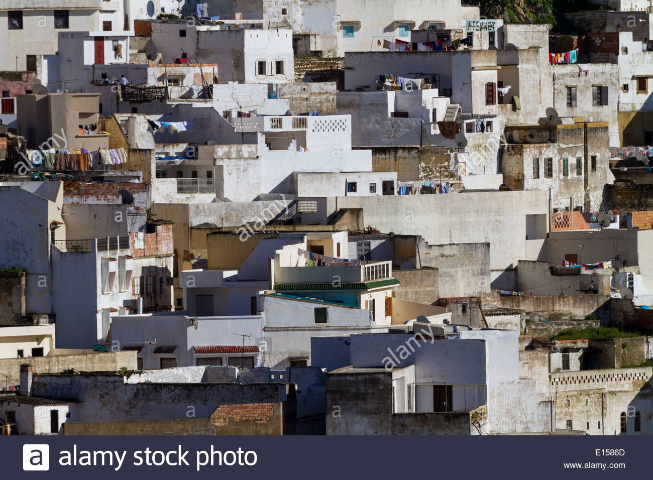 View of townscape - Morocco - Stock Image